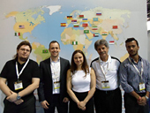 AxxonSoft team at ISC West, in Las Vegas, Nevada (USA)