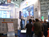 AxxonSoft booth at MIPS: Moscow International Protection, Security and Fire Safety Exhibition